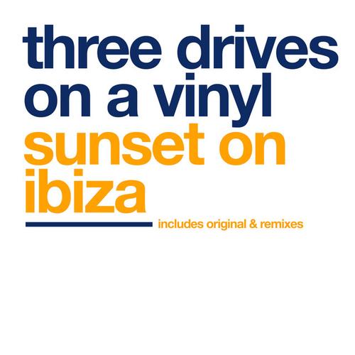 Artwork van Sunset On Ibiza